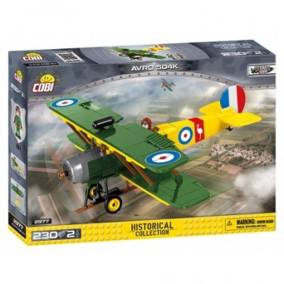 Great War AVRO 504 D7600, 230 k, 2 f