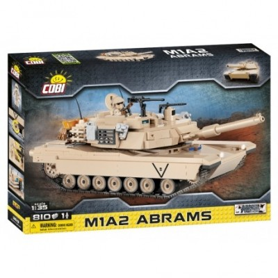 Small Army Abrams M1A2, 1:35, 810 k, 1 f